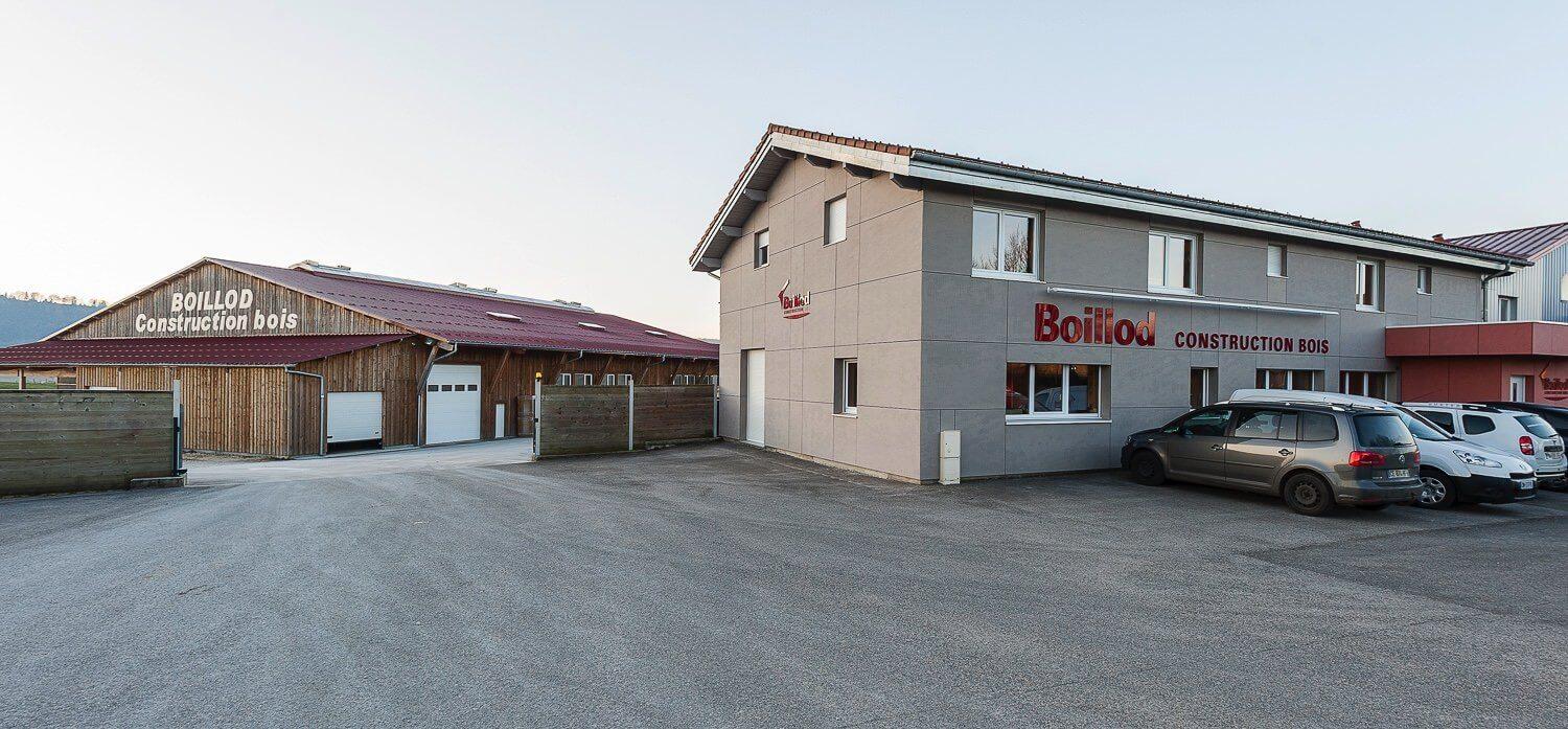 L 39 entreprise maison ossature bois boillod for Entreprise construction maison bois