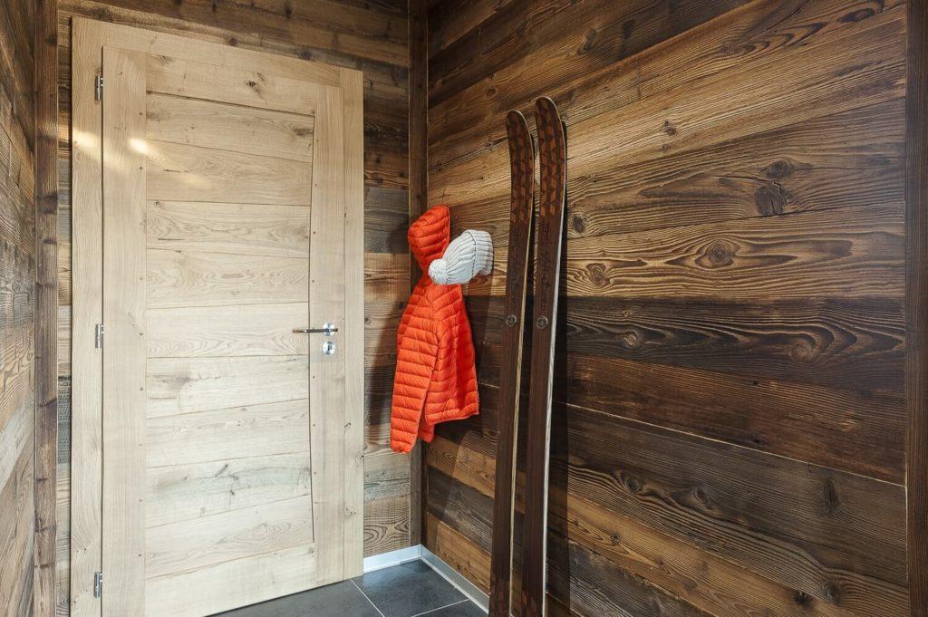Deco interieur maison bois