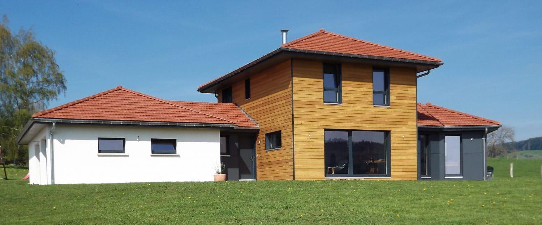 Maison bois orchamps vennes obtenez des id es de design int ressantes en - Probleme maison ossature bois ...