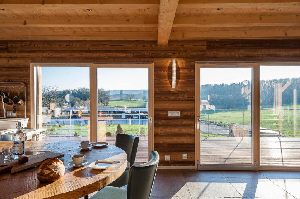 Ambiance intérieure - Maison ossature bois Boillod Construction