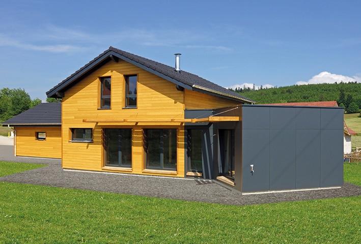 Constructeur maison ossature bois jura for Constructeur ossature bois